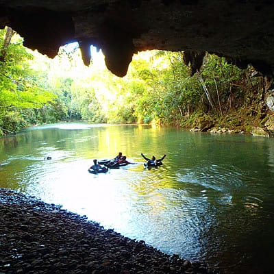 Cave Tubing 1